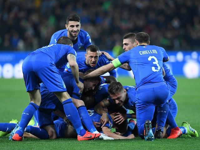 Result: Nicolo Barella, Moise Kean see Italy past Finland