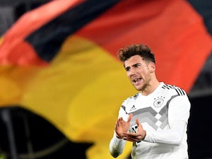 Leon Goretzka scores for Germany on March 20, 2019