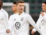 Marco Reus during a Germany training session on March 19, 2019