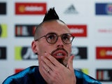 Marek Hamsik during a Slovakia press conference on March 23, 2019