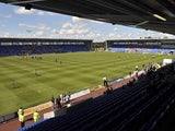 General view of Shrewsbury Town's New Meadow from August 2008