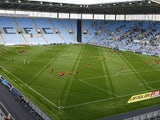 General view inside Coventry City's Ricoh Arena from August 2015