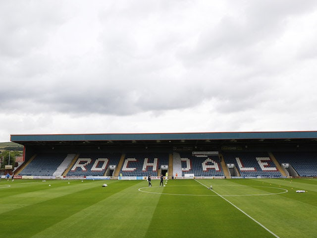 Rochdale stadium evacuated due to