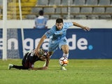 Gremio defender Walter Kannemann pictured during a Copa Libertadores match in May 2018