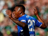Alfredo Morelos sees red for Rangers on March 31, 2019