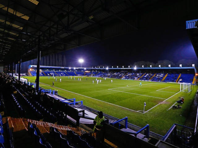 Bury's game against Gillingham suspended