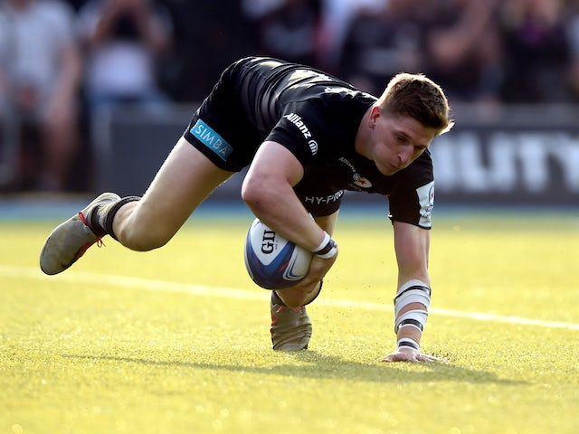 Result: David Strettle helps Saracens into Champions Cup semis