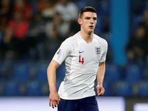 Focus on Declan Rice after full England debut
