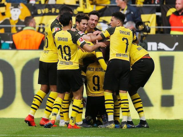 Result: Alcacer brace helps Dortmund back to top of Bundesliga