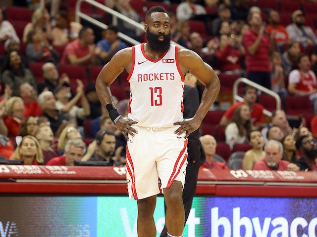 Result: James Harden scores 50 as Rockets beat Kings