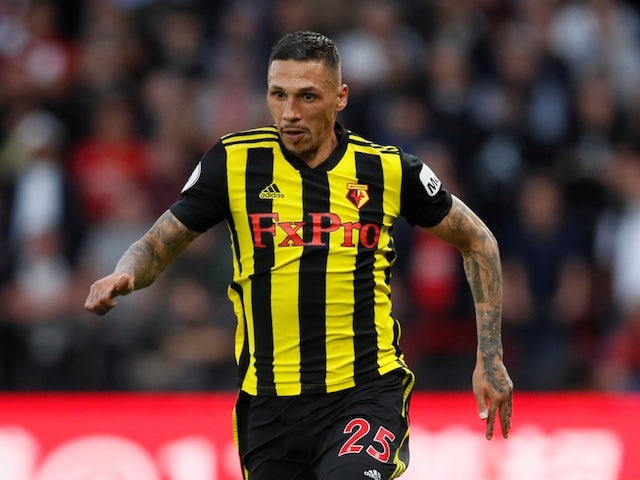 Watford's Jose Holebas pictured in September 2018