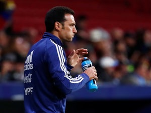 Argentina manager Lionel Scaloni picture during the friendly against Venezuela on March 22, 2019