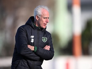 "Republic of Ireland boss Mick McCarthy wary of ""all work and no play"""