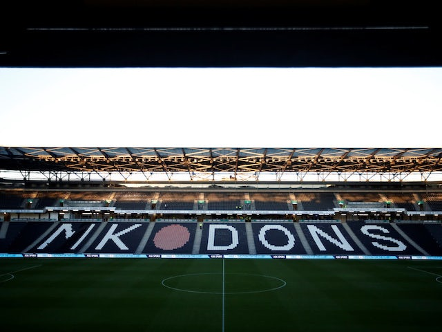 General view of MK Dons' Stadium MK from 2018