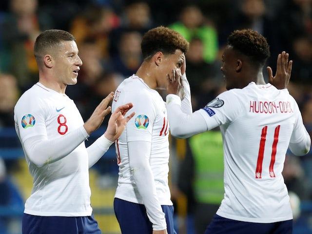 Result: Hudson-Odoi impresses as England put five past Montenegro