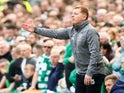 Neil Lennon in charge of Celtic on March 31, 2019