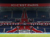 General view of PSG's Parc des Princes from February 2019
