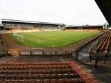 General view of Port Vale's Vale Park from 2014