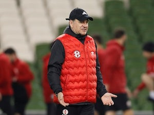 """Georgia coach hoping for """"miracle"""" against Ireland"""