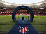 General view inside Atletico Madrid's Wanda Metropolitano from November 2018