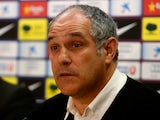 Marseille sporting director Andoni Zubizarreta pictured during his time at Barcelona in 2012