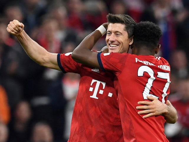 Result: Five-star Bayern hammer Dortmund to move top