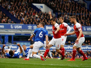 Jagielka scores as Everton beat Arsenal at Goodison Park