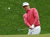 Ian Poulter in action on March 16, 2019