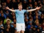 Manchester City team news: Injury, suspension list vs. Manchester United