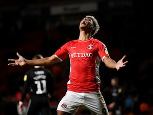 Lyle Taylor in action for Charlton Athletic on March 9, 2019