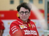 New Ferrari team principal Mattia Binotto pictured on March 29, 2019