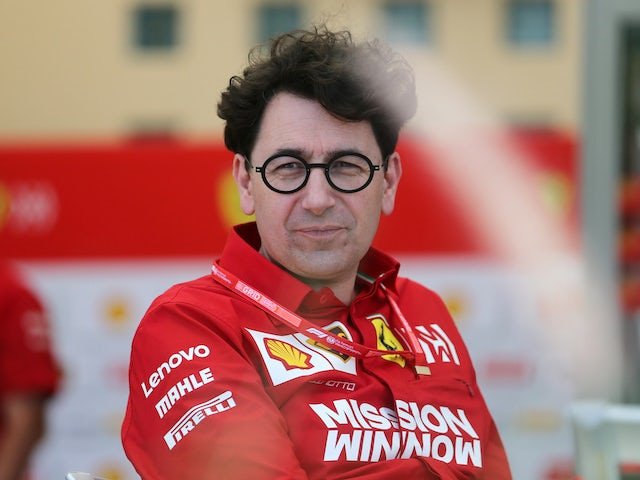 Binotto 'satisfied' with Vettel