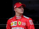 Mick Schumacher pictured in March 2019