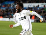 Nathan Dyer scores for Swansea City on April 2, 2019