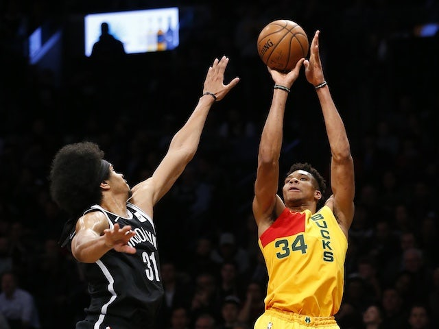Result: Antetokounmpo stars as Milwaukee Bucks beat Brooklyn Nets