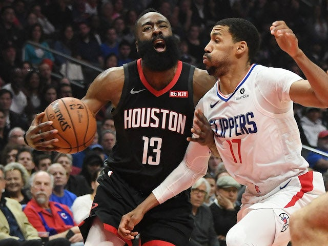 Result: Harden scores 31 as Rockets charge to fourth straight win