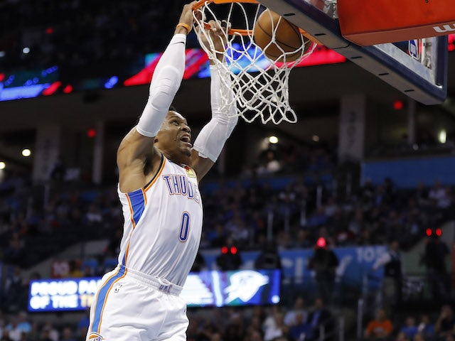 Result: Russell Westbrook posts 20/20/20 game for just second time in NBA history