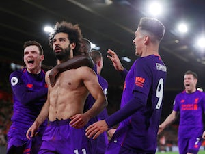Salah ends drought to help fire Liverpool top
