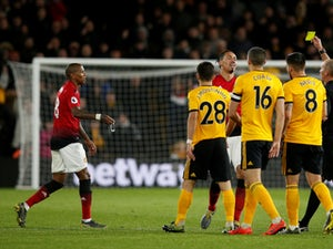 Ashley Young becomes Mike Dean's 100th Premier League sending-off