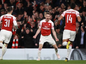 Arsenal take control of Napoli tie