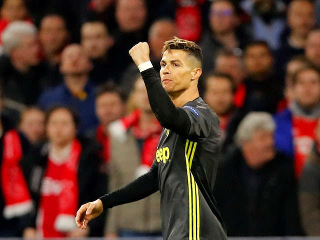 Result: Ronaldo nets 125th Champions League goal as Juve draw at Ajax