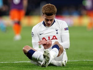 Spurs injury, suspension list vs. Man City