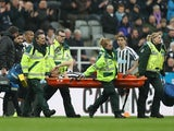 Florian Lejeune stretchered off for Newcastle on April 6, 2019