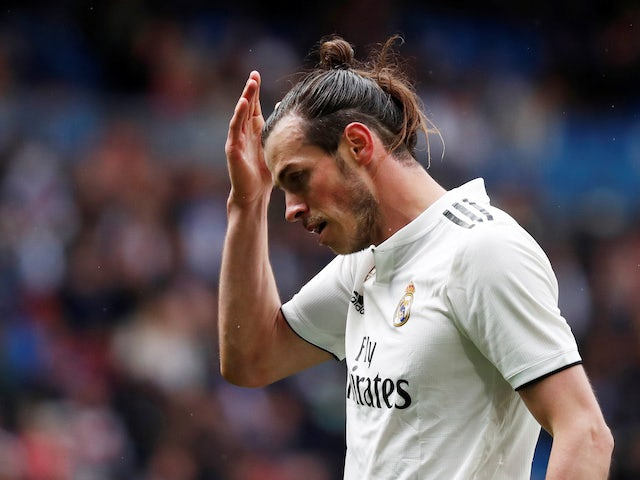 Gareth Bale in action for Real Madrid on April 6, 2019