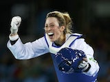 Jade Jones in action for Team GB at the Rio Olympics on August 19, 2016