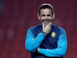 Villarreal boss Javi Calleja pictured in November 2017
