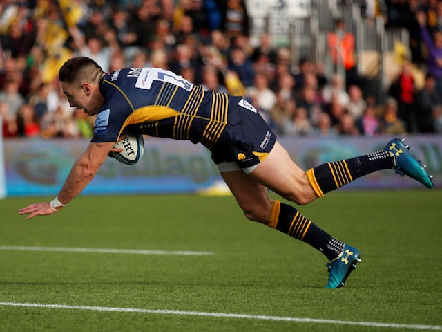 Result: Adams hat-trick helps Worcester steer clear of danger