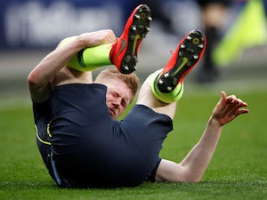 Guardiola confirms De Bruyne hamstring injury