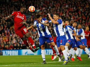 Sadio Mane in action for Liverpool against Porto on April 9, 2019