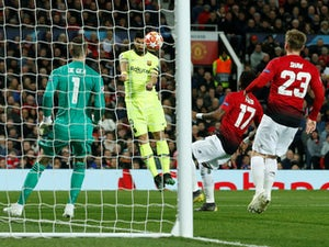 Shaw own goal hands Barcelona first-leg advantage